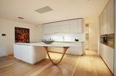 moderne küche gestalten - stilvolle kücheninsel