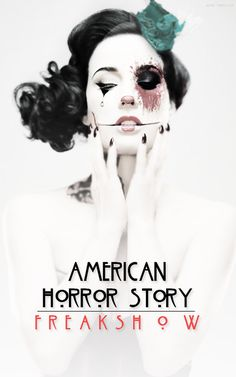 Poster for season 4 of American Horror Story: Freakshow...Can't wait!