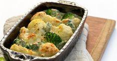 Broccoli & Cauliflower Casserole - Tiny New York Kitchen Broccoli Cauliflower Casserole, Cauliflower Cheese, 2 Quart Baking Dish, Holiday Dinner, Veggie Recipes, Veggie Food, Paleo, Yummy Food, Stuffed Peppers