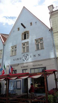 Tallinn (Estonia). Hoitel Viru Inn.