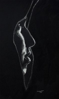 Follow me at: Art Station /Concept Art.org/ Facebook Black And White Art Drawing, Black Paper Drawing, Black White Art, Dark Art Drawings, Pencil Art Drawings, Art Drawings Sketches, Charcoal Sketch, Charcoal Art, White Charcoal