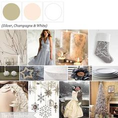 Taupe, pale pink, white color palette (found it at: The Perfect Palette.)