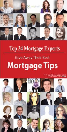 Top 34 Mortgage Experts Gives Away Their BEST Mortgtage Tips! - Mortgage Loan Originator - Paying off mortgage tips. - Top 34 Mortgage Experts Gives Away Their BEST Mortgtage Tips! Mortgage Quotes, Mortgage Humor, Mortgage Loan Officer, Mortgage Companies, Mortgage Tips, Mortgage Calculator, Online Mortgage, Mortgage Payment