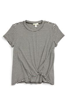 Main Image - Love on Tap Knotted Stripe Tee