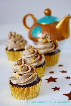 """Arabische Mokka Cupcakes """"Baharat"""" mit Frischkäse-Frosting von """"Cinnamon and Coriander"""""""