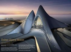 Dubai is a new city with innovative architecture.