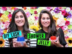 DIY LUSH Shower Jelly - KittehsCupcakes.nl Lush Shower Jelly, Shower Jellies, Jelly Soap, Diy Shower, Beauty Advice, Diy Stuff, Bath Bombs, Fashion Beauty, Bubbles