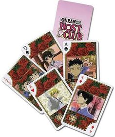 Ouran High School Host Club Playing Cards $9