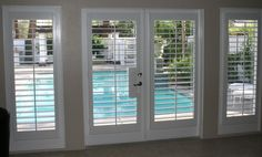 Magnetic Window Blinds as Important Elements of Interior : Magnetic Blinds For Windows. Magnetic blinds for windows. French Door Shutters, Blinds For French Doors, French Doors Patio, Windows And Doors, French Patio, Living Room Blinds, House Blinds, Bedroom Blinds, Blinds Home Depot