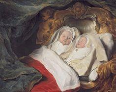 1646 Salomon de Bray (Dutch, 1597–1663). Double Portrait of the Twins Clara and Aelbert de Bray
