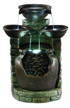 EASY FOUNTAIN Made from durable resin-stone. #waterfountain www.kelkay.co.uk