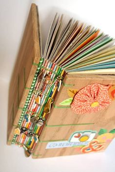 These are such DIY book binding hand covers by which you can keep your books safe and beautiful looking as well. books binding 13 Diy Book Binding Hand Covers To Keep Your Books Safe And Attractive Handmade Journals, Handmade Books, Handmade Notebook, Handmade Rugs, Handmade Crafts, Mini Albums, Book Crafts, Paper Crafts, Amy Tan