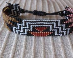 Handgewebte Perlen Armband mit Kerze Seil/Loom Perlen