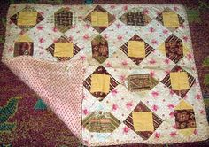Incredible Antique Doll Quilt.