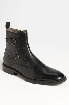 Calvin Klein 'Richard' Double Monk Strap Boot available at Nordstrom, $170.00