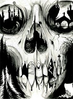 Charlie Immer- translucent bubbly genius Creative Boys Club » we love skulls www.creativeboysclub.com/tags/we-love-skulls