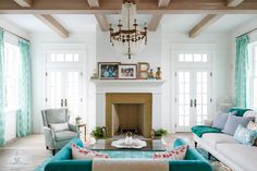 Two of my favorite people to follow on Instagram are designer Gretchen Black ofGreyhouse Design and her husband Jason Black of Artisan Signature Homes, a Southern Living custom home builder locate…