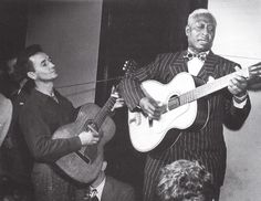 597e61acf08 Woody Guthrie and Leadbelly Lead Belly