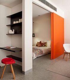a1c2112b505de9 grande paroi coulissante oranger pour séparer une pièce en deux Portes  Coulissantes, Cloisons Amovibles,