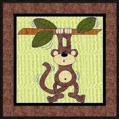monkey applique