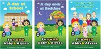 Fun with Abby & Alyssa Book Series 2   Manufacturer Direct Price: $29.95  	  Price includes three books. Abby and Alyssa continue their exploration of American Sign Language (ASL) in this second set of three books. This wonderful series is designed to introduce ASL to all early readers.  Abby and Alyssa are two real girls with significant medical challenges who use sign language to communicate. They are inspirational to all of us and provide a fun way to learn American Sign Language.