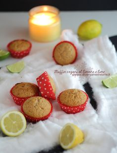 muffin #vegan limone e lime #lactosefree #eggsfree