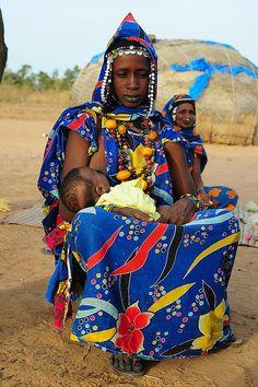 Africa |  3 Peul generations, Mali |  © Luca Gargano