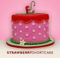strawberry shortcake cake - Google Search