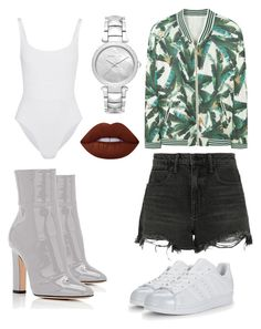 """Option 2"" by boturovic-kristina on Polyvore featuring MANGO, Alexander Wang, Eres, Lime Crime, Michael Kors and adidas Originals"