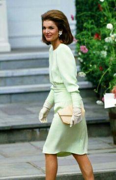 Jackie - not exactly royal but how elegant