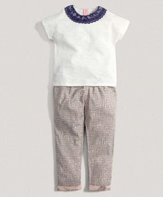 Girls Limited Edition Two Piece Pant Set #mamasandpapas