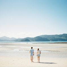 personal. hamilton island. film photography. beach. blue hues.
