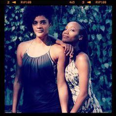 Maryam Kaba (on the left) and Doris Martel (on the right), who developed #Afrovibe
