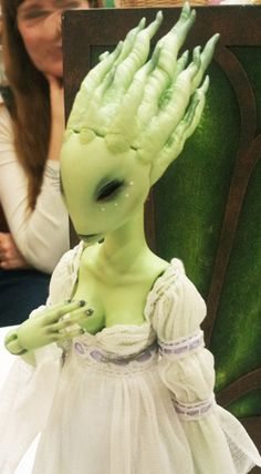 PFDF 2012 by takuya's home, via Flickr great alien face for alien fairy