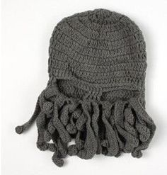Steampunk Unisex Knitted Wool Ski Mask/ Hat