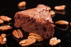 Receta de Delicioso Pastel de Chocolate con Nuez