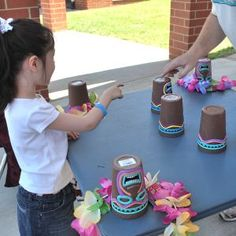Kids Carnival Game Ideas for Birthday Parties Kids Carnival, Spring Carnival, School Carnival, Carnival Games, Carnival Ideas, Halloween Carnival, Kids Luau Parties, Birthday Parties, 5th Birthday