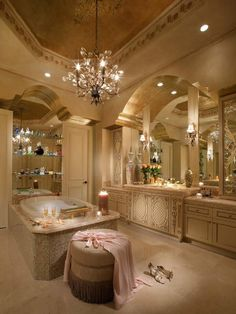 Dream Master Bathroom Luxury is categorically important for your home. Whether you choose the Master Bathroom Ideas Decor Luxury or Luxury Bathroom Master Baths Dreams, you will create the best Luxury Bathroom Master Baths Beautiful for your own life. House Design, Luxury Bathroom, Luxury Homes, House, Amazing Bathrooms, Home, Gorgeous Bathroom, Beautiful Bathrooms, Residential Interior Design