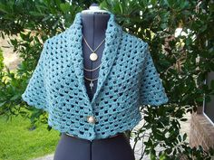 I Love This Wrap by Rose Williams! Perfect length for wheelchair or bed-bound! This is a Free Pattern.