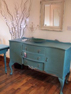 Shabby Chic Sideboard, Annie Sloane, Provence.