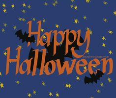 Happy Halloween in the Night Sky with Bats by elephantshoecor   Redbubble   digital art   ipad art   procreate Bat Images, Ipad Art, Greeting Cards Handmade, Bats, Night Skies, Top Artists, Diy Bedroom Decor, Happy Halloween, Hand Lettering
