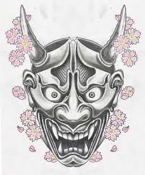 Japanese Demon Tattoo Flash Designs. Top quality high resolution ...