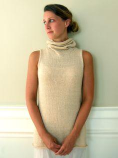 Cowl Vest | Purl Soho - Create