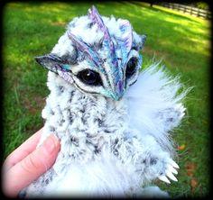 eBay Posable Siberian Baby Dragon! by Wood-Splitter-Lee.deviantart.com