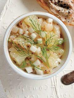 Recipe : 帆立とかぶ、グレープフルーツ