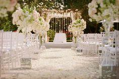 Decoración ceremonia boda