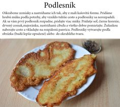 Zemiakový podlesník Baked Potato, French Toast, Potatoes, Baking, Breakfast, Ethnic Recipes, Food, Basket, Bread Making