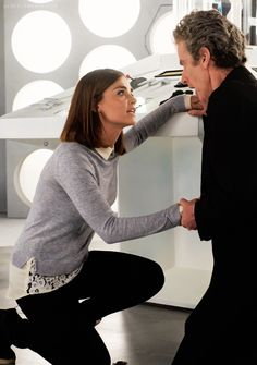 ksc CLARA: I didn't mean to do this. I'm sorry..// DOCTOR: It's okay. It's okay. I went too far. I broke all my own rules. I became the Hybrid. This is right. I accept it..// CLARA: I can't. There has to be something I can do..// DOCTOR: Smile for me. Go on, Clara Oswald, one last time..// CLARA: How could I smile?.// DOCTOR: It's okay. Don't you worry. I'll remember it.
