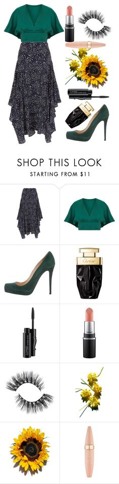 """""""Untitled #404"""" by izzwhizzicorn ❤ liked on Polyvore featuring STELLA McCARTNEY, Christian Louboutin, MAC Cosmetics and Maybelline"""