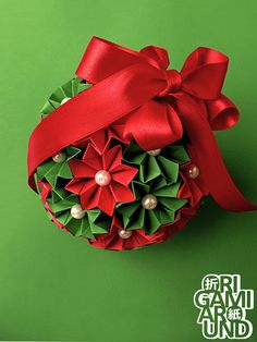 I am Istvan from Hungary, origami enthusiast. If you ask me, origami is pure awesome. Origami Star Box, Origami And Kirigami, Origami Ball, Origami Fish, Paper Crafts Origami, Origami Design, Outdoor Christmas Decorations, Diy Party Decorations, Origami Flowers